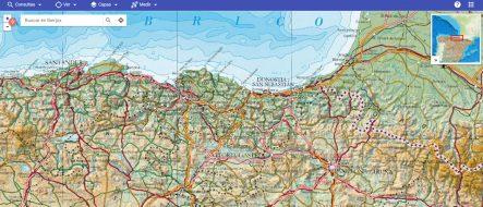 Mapas topográficos online
